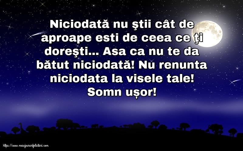 Cele mai apreciate felicitari de noapte buna - Somn ușor!
