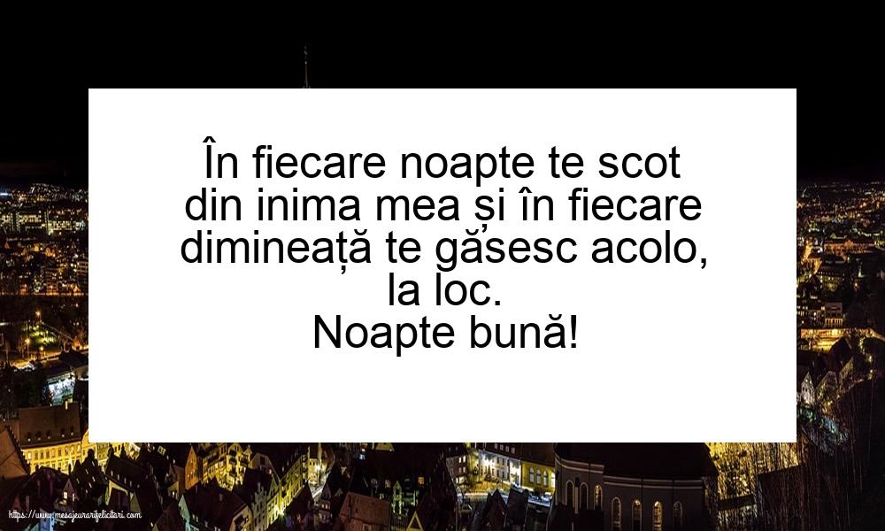Felicitari de noapte buna - Noapte bună!