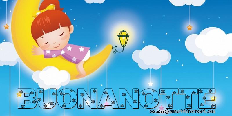 Felicitari de noapte buna in Italiana - buonanotte