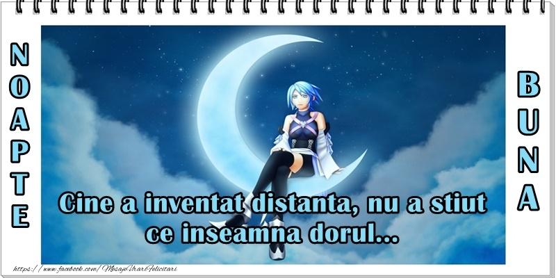 Felicitari de noapte buna - Noapte buna! Cine a inventat distanta