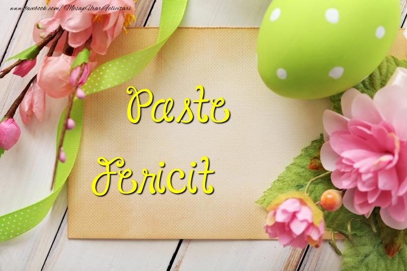 Felicitari de Paste - Paste Fericit - mesajeurarifelicitari.com