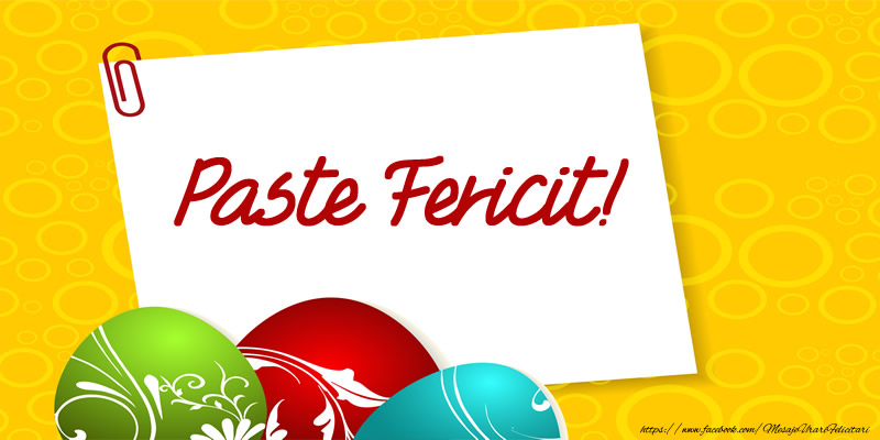 Felicitari de Paste - Paste fericit! - mesajeurarifelicitari.com