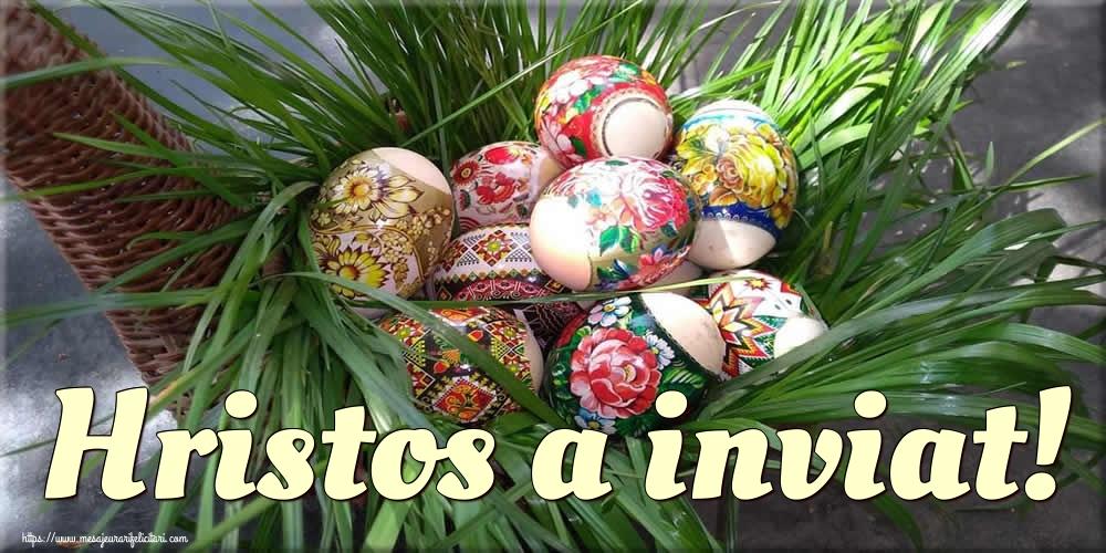 Cele mai apreciate felicitari de Paste - Hristos a inviat!