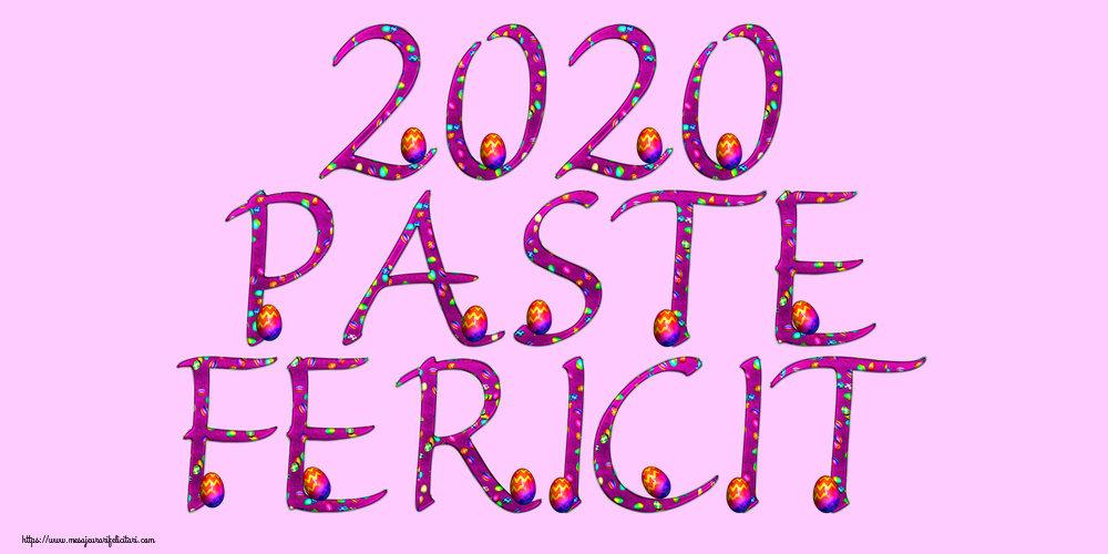 Felicitari de Paste - 2020 Paste Fericit!