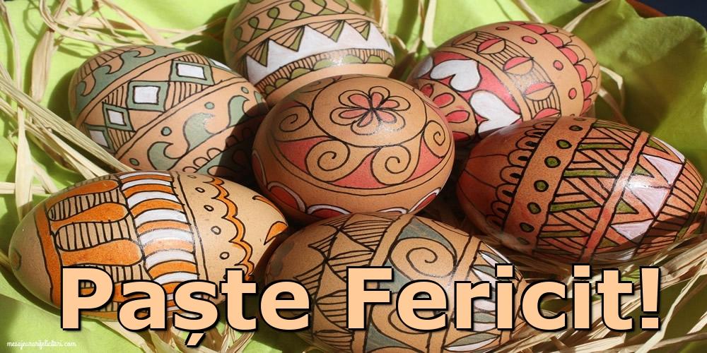 Felicitari de Paste - Paște Fericit - mesajeurarifelicitari.com