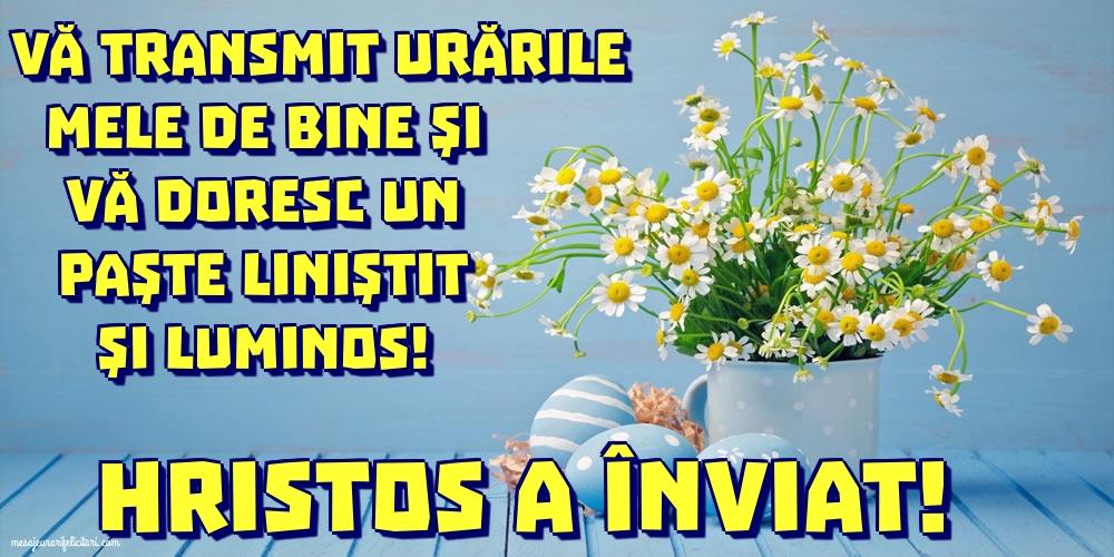 Felicitari de Paste - Hristos a Înviat! - mesajeurarifelicitari.com
