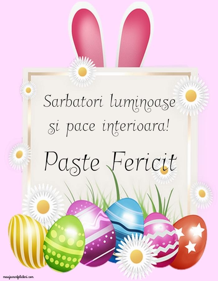 Felicitari de Paste - Paste Fericit impreuna cu familia ta!