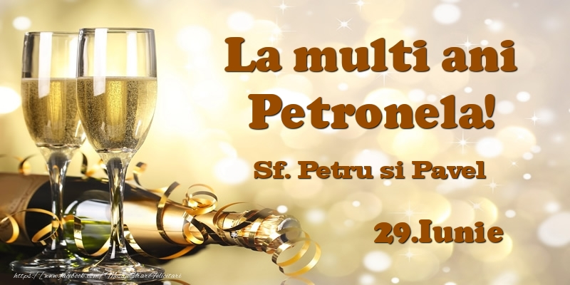 29.Iunie Sf. Petru si Pavel La multi ani, Petronela!