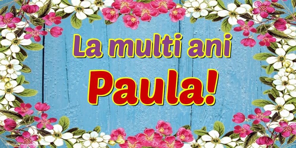 Felicitari de Sfintii Petru si Pavel - La multi ani Paula!