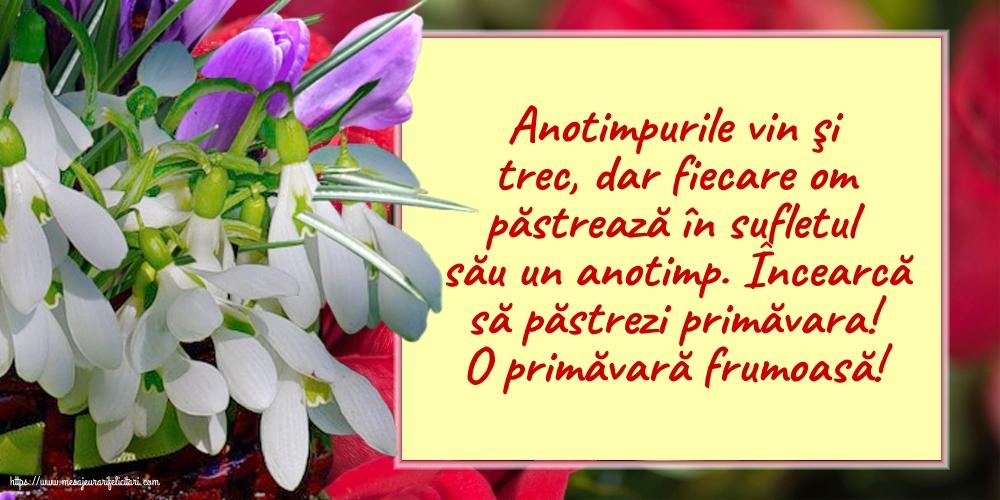 Cele mai apreciate felicitari de Primavara - O primăvară frumoasă!