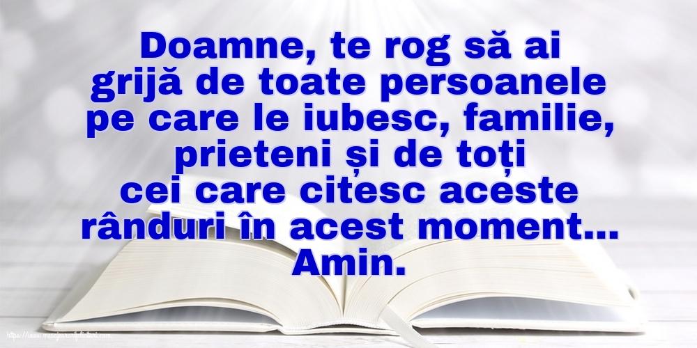 Imagini religioase - Doamne, te rog să ai grijă de toate persoanele pe care le iubesc. - mesajeurarifelicitari.com