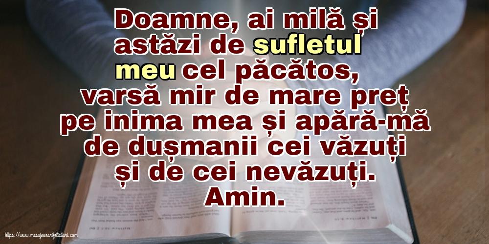 Imagini religioase - Doamne, ai milă și astăzi de sufletul meu cel păcătos!