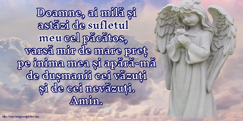 Cele mai apreciate imagini religioase - Doamne, ai milă și astăzi de sufletul meu cel păcătos!