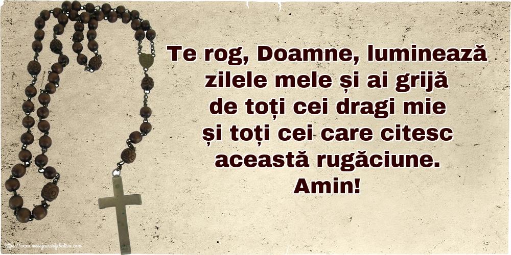 Imagini religioase cu mesaje - O rugăciune frumoasă