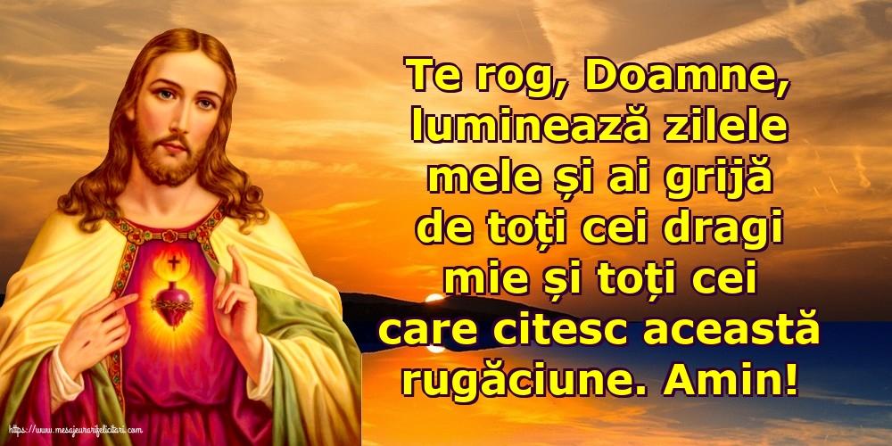 Imagini religioase - O rugăciune frumoasă