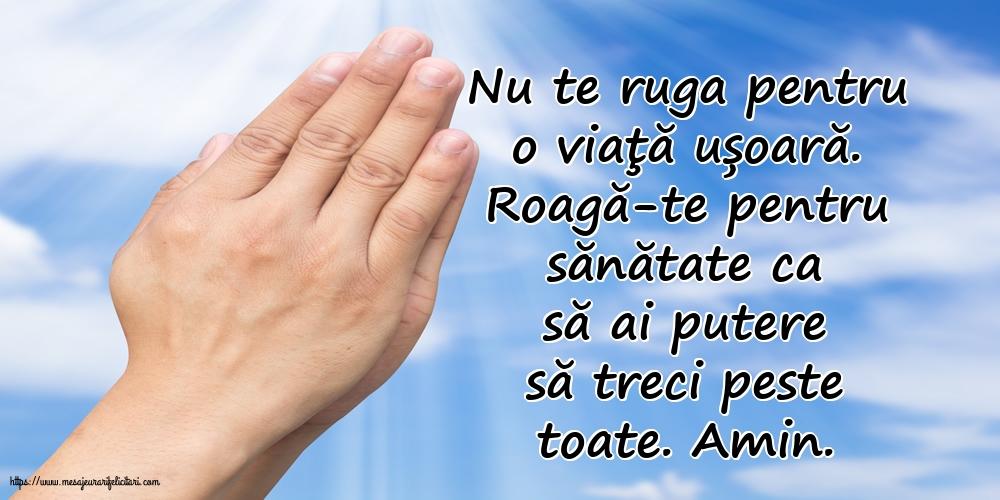 Imagini religioase - Roagă-te pentru sănătate