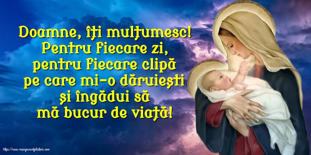 Cele mai apreciate imagini religioase - Doamne, îți mulțumesc!