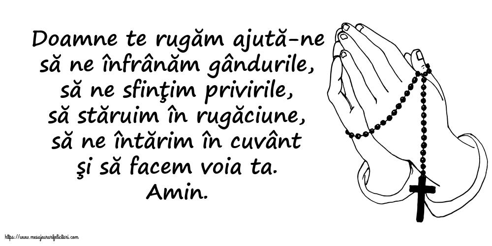 Imagini religioase - Doamne te rugăm ajută-ne...