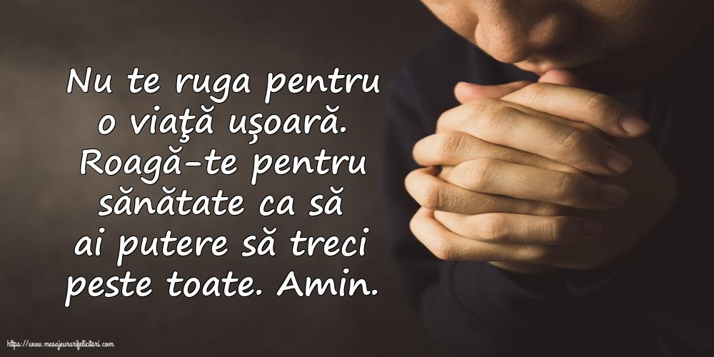 Imagini religioase cu mesaje - Roagă-te pentru sănătate