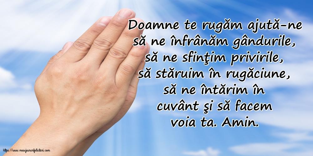 Cele mai apreciate imagini religioase - Doamne te rugăm ajută-ne...