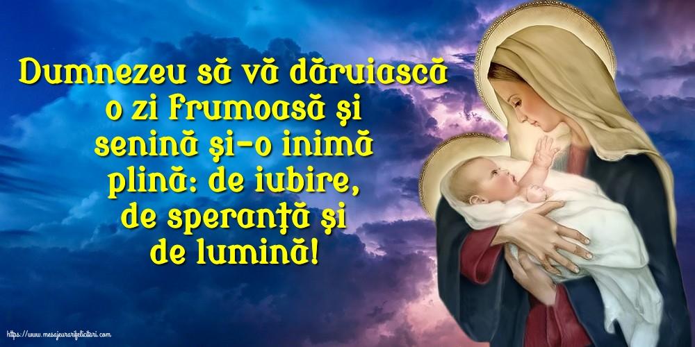 Imagini religioase cu mesaje - Dumnezeu să vă dăruiască...