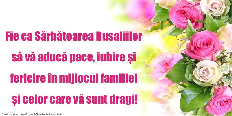Felicitari de Rusalii 2017