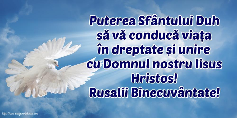 Felicitari de Rusalii - Rusalii Binecuvântate! - mesajeurarifelicitari.com
