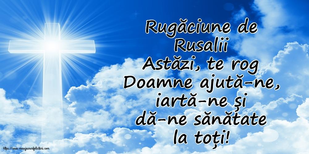 Felicitari de Rusalii cu mesaje - Rugăciune de Rusalii