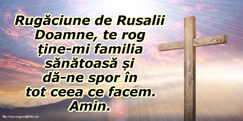 Felicitari de Rusalii - Rugăciune de Rusalii