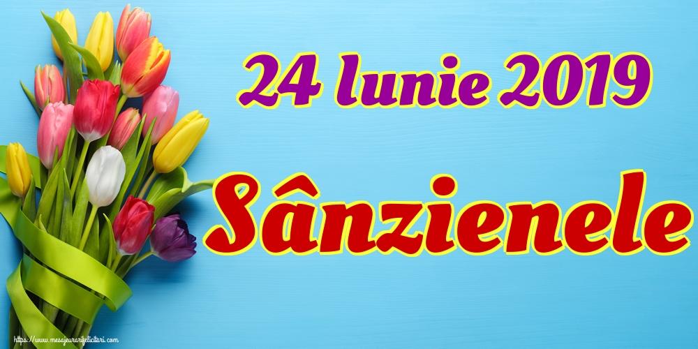 Felicitari de Sanziene - 24 Iunie 2019 Sânzienele
