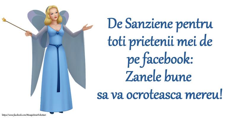 De Sanziene pentru toti prietenii mei de pe facebook: Zanele bune sa va ocroteasca mereu!