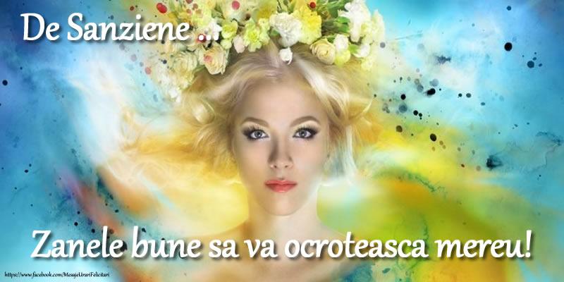 Felicitari de Sanziene - De Sanziene ... Zanele bune sa va ocroteasca mereu! - mesajeurarifelicitari.com