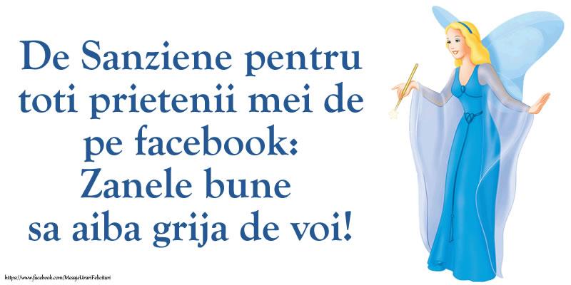 Sanziene De Sanziene pentru toti prietenii mei de pe facebook: Zanele bune sa aiba grija de voi!