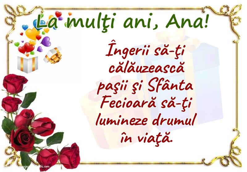 Cele mai apreciate felicitari de Sfanta Ana - La mulţi ani, Ana!