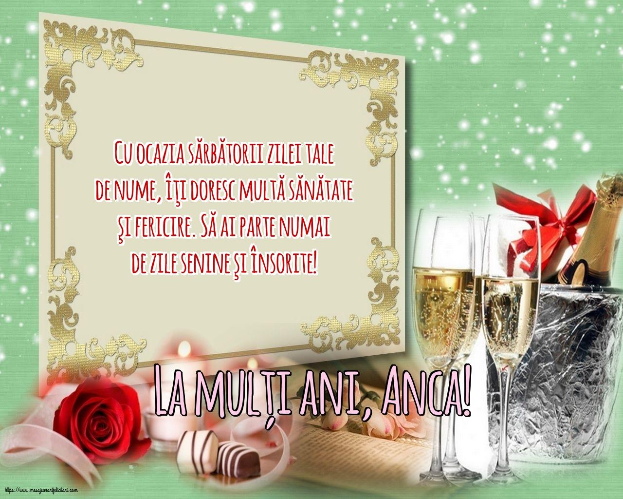 Felicitari de Sfanta Ana - La mulți ani, Anca! - mesajeurarifelicitari.com