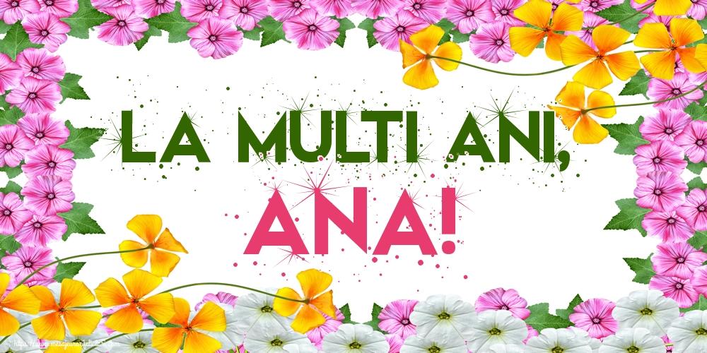 Felicitari de Sfanta Ana - La multi ani, Ana!