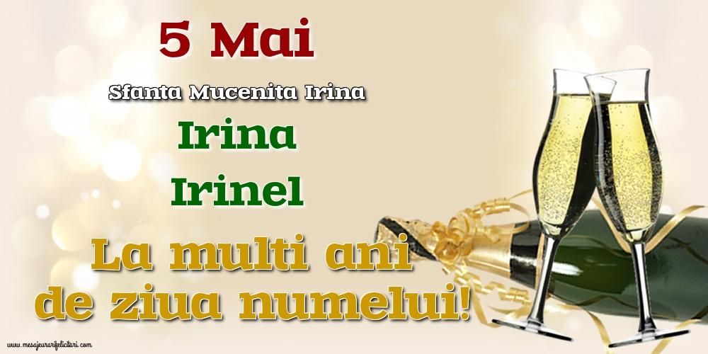 Cele mai apreciate felicitari de Sfanta Irina - 5 Mai - Sfanta Mucenita Irina