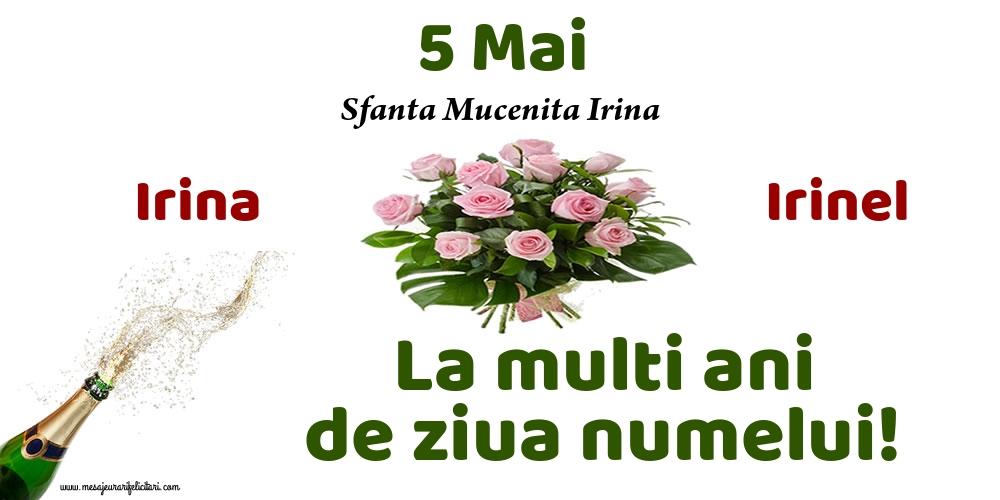 Sfanta Irina 5 Mai - Sfanta Mucenita Irina
