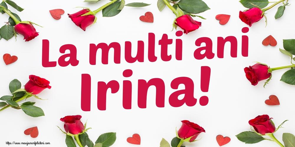 Felicitari de Sfanta Irina - La multi ani Irina!