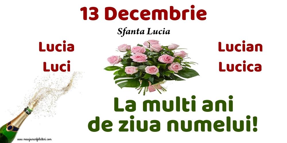 Sfanta Lucia 13 Decembrie - Sfanta Lucia