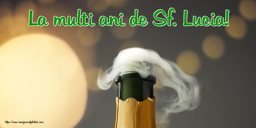 Felicitari de Sfanta Lucia - La multi ani de Sf. Lucia!