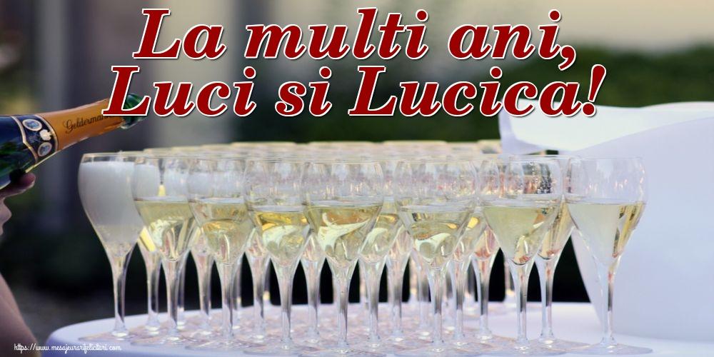 Felicitari de Sfanta Lucia - La multi ani, Luci si Lucica!