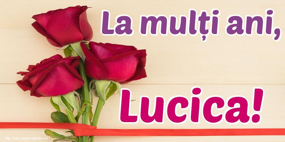 Felicitari de Sfanta Lucia - La mulți ani, Lucica!