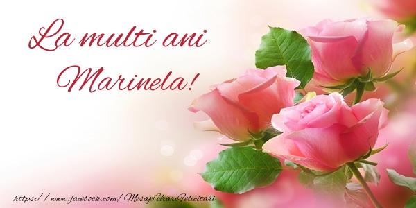 La multi ani Marinela!