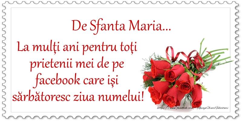 Top 10 felicitari de Sfanta Maria