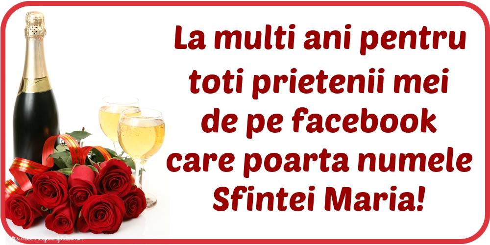Felicitari de Sfanta Maria Mica - La multi ani pentru toti prietenii mei de pe facebook care poarta numele Sfintei Maria!