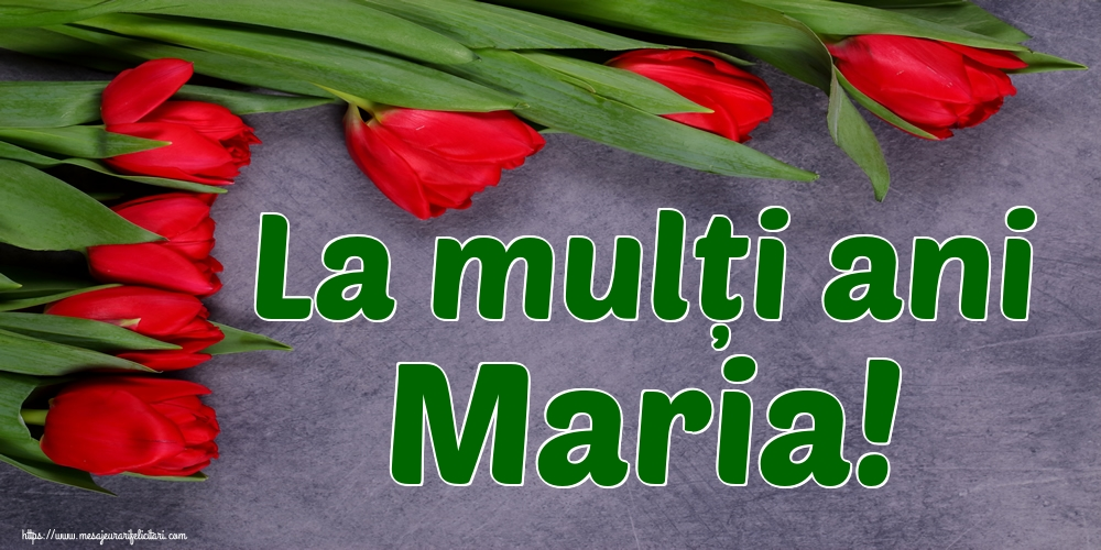 Felicitari de Sfanta Maria Mica - La mulți ani Maria!