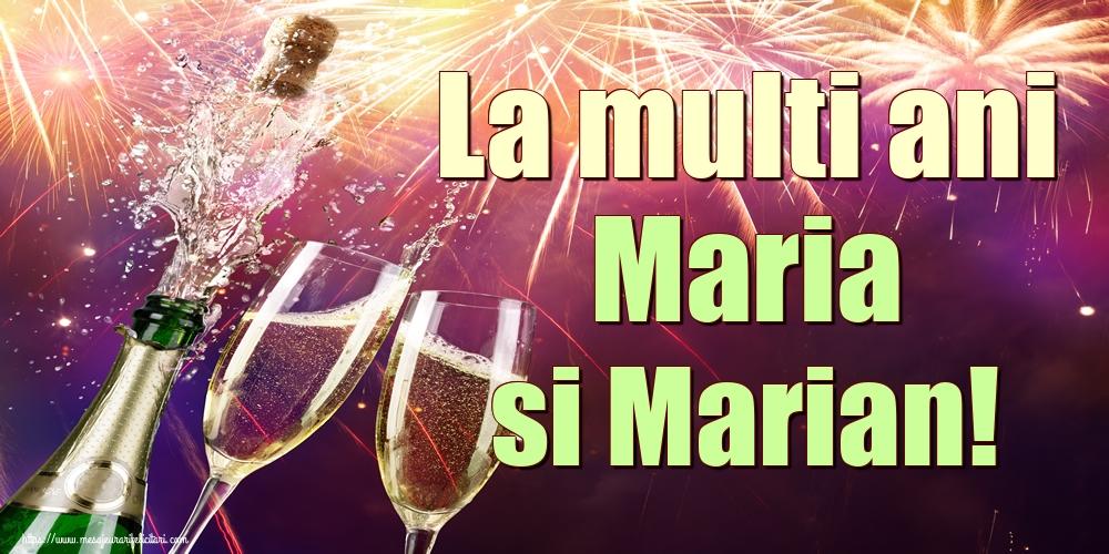 Felicitari de Sfanta Maria Mica - La multi ani Maria si Marian!