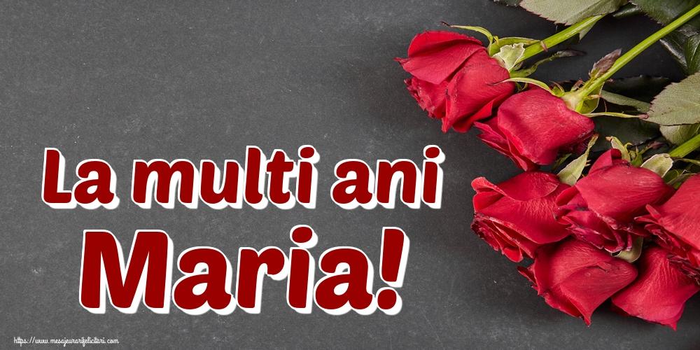 Sfanta Maria Mica La multi ani Maria!
