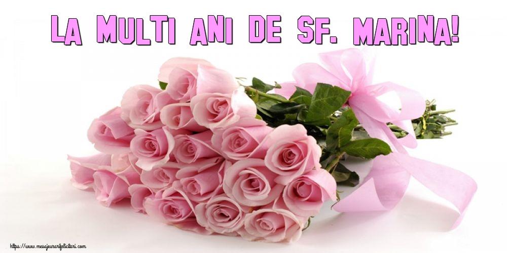 Felicitari de Sfanta Marina - La multi ani de Sf. Marina!